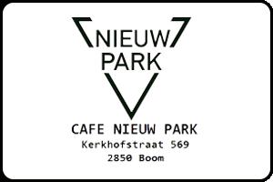 Cafe Nieuw Park Boom